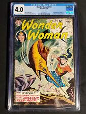Wonder Woman #107 1959 1st Wonder Girl DC Comics CGC 4.0