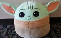 "Star Wars Baby Yoda Squishmallow 20"" Inch Jumbo XL Mandalorian Plush - NEW 🔥"