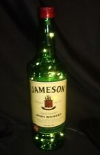 Jameson Whiskey Bottle/Lamp with battery operated LED lights