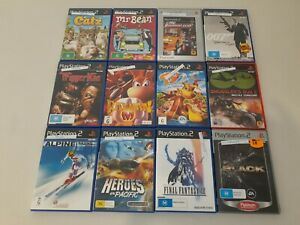Playstation 2 Games Starting @ $3! Bundle Discounts! Condition In Description!