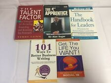 5x Business Leadership Books The Talent Factor Get The Life You Want Apprentice