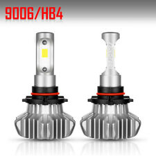 2X Upgraded Osram LED Headlight Bulbs 9006 HB4 10500LM 70W Low Beam 6500K White