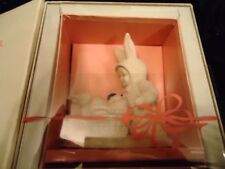 """Retired Department 56 Snowbunnies """"Help Me Find the Eggs"""" With Box #26077 1994"""