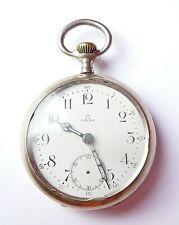 Pocket Watch Steel Omega 1908