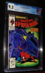 THE AMAZING SPIDER-MAN #305 1988 DC Comics CGC 9.2 NM- White Pages