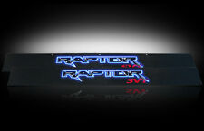 2009-2014 F150 SVT Raptor Illuminated Light Up Black Billet Door Sill Plates