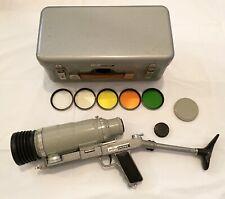 Zenit ES PhotoSniper 4.5/300 Lens Pistol Shoulder Attachment Case UNTESTED