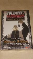 Fullmetal (Full Metal)  Alchemist TCG/CCG Starter Deck Father Cornello  *sealed*