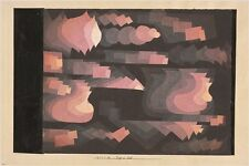 ORIENTAL PLEASURE GARDEN paul klee VINTAGE PAINTING art poster UNIQUE 24X36