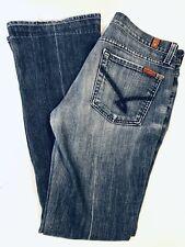 7 SEVEN FOR ALL MANKIND Womens JEANS SIZE 27 Bootcut Jeans Style U075RJ080U-080U