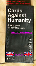 Cards Against Humanity UK V2.0 Latest Edition New Sealed 600 cards FREE UK POST.