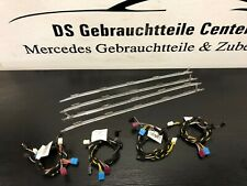 Orig. Mercedes W212 S212 Ambientebeleuchtung + Kabel Türverkleidungen 3-Farben