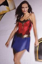 Womens Wonder Woman Movie Halloween Costume Sexy Cosplay Dress Adult Medium NEW