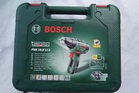 Bosch Akku-Zweigang-Bohrschrauber PSR 10,8 LI-2 inkl. 1 Akku und  2,0 Ah