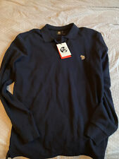 Paul Smith Long Sleeve Polo Top Size L