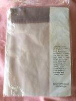 Vintage 1950s Internationals nylon stockings very sheer brand new in orig packet