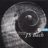 Bach: Sonatas & Partitas (Monica Huggett) CD 2 discs (1997) Fast and FREE P & P
