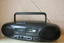 Sharp QT-CD7.Radio CD Player Cassette Recorder Digital Pre-Owned.+ Instruction!