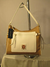 Tommy Hilfiger Bag New with Tags Beige White Hobo 6932527 260