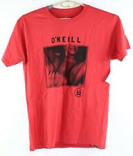 Oneill Mens Size Medium Red 'First in Last Out' Hot Chick T Shirt New with Tags