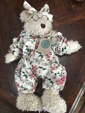 """Boyd's Bear Collection Ophelia - Spring PJs - 16"""" with Tags - 1997"""