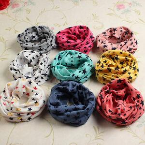 baby kids toddler girl boy snood scarf neck warmer multi colour uķ