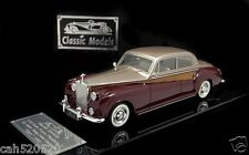 """Rolls Royce 1961 Phantom V James young 2 door """" Hers """" ( gold /wine red)"""