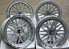 "19"" ruote in lega d'argento LM si adatta Honda Accord Civic CR-V CR-Z FR-V JAZZ 5X114"