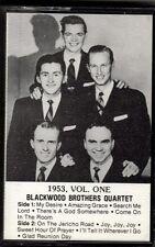 """BLACKWOOD BROTHERS QUARTET .......""""1953, VOLUME ONE"""".........OOP GOSPEL CASSETTE"""