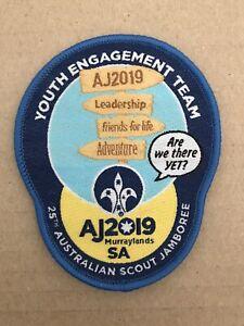 Australian Scout Jamboree badge - Youth Engagement Team Keyhole AJ2019