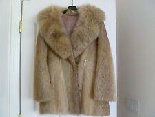Gorgeous Woman's Real  Fur Short Winter Jacket.Size - Regular M.