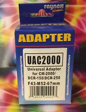 Raynox Universal Adapter 52-67mm UAC2000 UAC 2000 *52 55 58 62 67 to 43 mm Lens