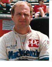 Autographed Ludwig Heimrath Jr. CART Indy Car Racing Photograph