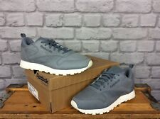 REEBOK LADIES UK 6 EU 39 GREY LEATHER CLASSIC TRAINERS RRP £60