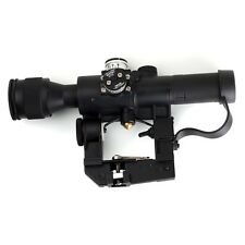 Hunting Airsoft Dragunov 4x26 PSO-1 SVD Rifle Scope Sniper Illuminated  Sight