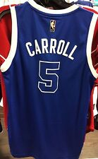 NBA Toronto Raptors DeMarre Carroll  Adidas Jersey Blue Huskies Swimgman Small