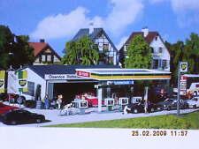 Faller 130345 Tankstelle mit Servicegebäude / Werkstatt Bausatz NEU