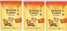 3 Bags of Prince of Peace Natural Ginger Chews Candy with Mandarin Orange