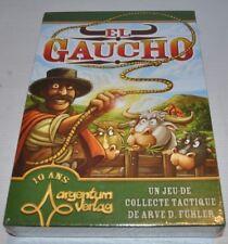 EL GAUCHO French BOARD GAME 2014 Argentum  Verlag SEALED