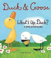 Hills, Tad, A Book of Opposites Duck & Goose: What's Up Duck?, Very Good Book