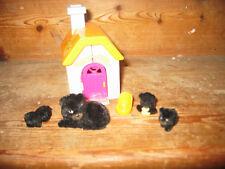 Meg 2007 selva en mi bolsillo openout House Black Bear Silla de piezas de apertura de los Cachorros