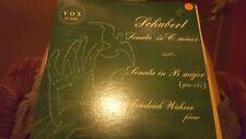 Frederick Wuhrer SCHUBERT Sonata Cm, Op.147 Vox PL 8420