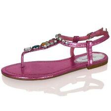 Sandalias y chanclas de mujer rosa, talla 38