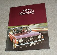 Volvo 244 Brochure 1977