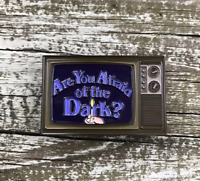 Are You Afraid Of The Dark Enamel Pin Nickelodeon Horror Retro Funny Lapel Pin