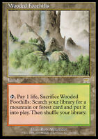 Colline Boscose - Wooded Foothills MTG MAGIC ONS Onslaught Eng/Ita EXC-NM
