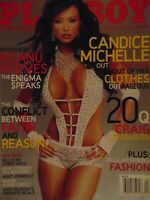 Playboy April 2006 | WWE Candice Michelle Holley Ann Dorrough   #8187+