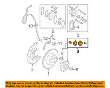 SUBARU OEM 03-15 Forester Front Brake-Disc Brake Caliper Seal Kit 26297FE000
