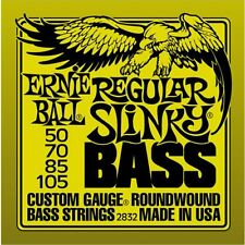 ERNIE BALL REGULAR SLINKY NICKEL ROUNDWOUND BASS GUITAR STRINGS