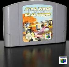 STAR WARS RACER EPISODE I GAMES USED NINTENDO 64 EUROPEA SOLO CARTUCCIA D65